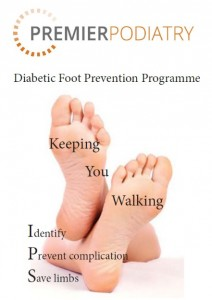 Diabetic foot brochure image
